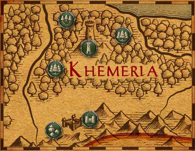 Map of Khemeria