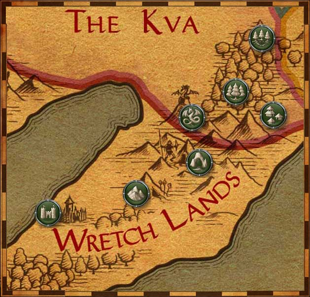 Map of the Kva